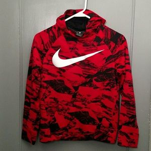 Nike Dri-Fit printed training pullover hoodie